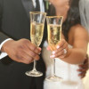 Dallas Wedding Videography Bride and groom champagne toast